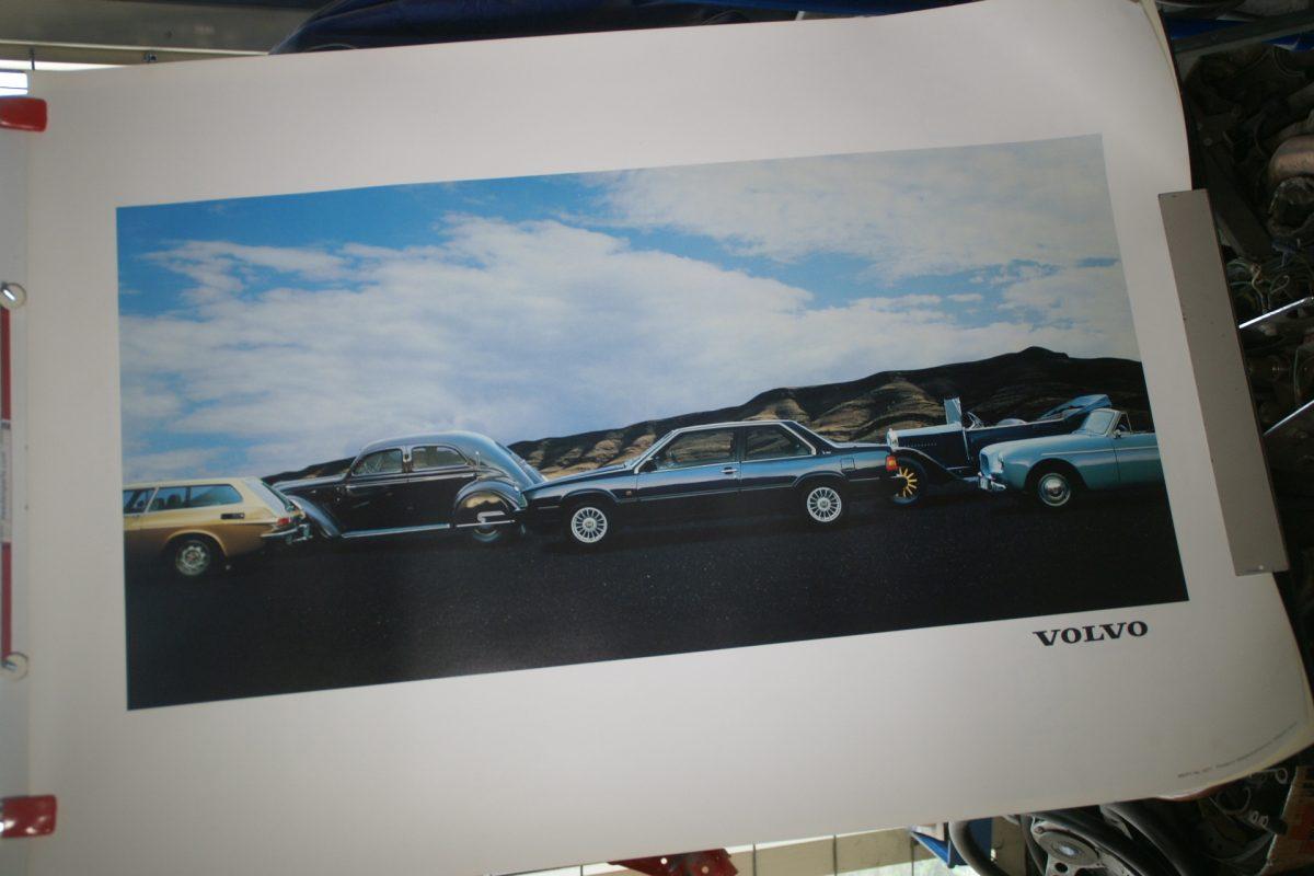 DSC02173 Volvo P1900 en Jakob, Carioca, 780 en 1800ES poster MSPV3271
