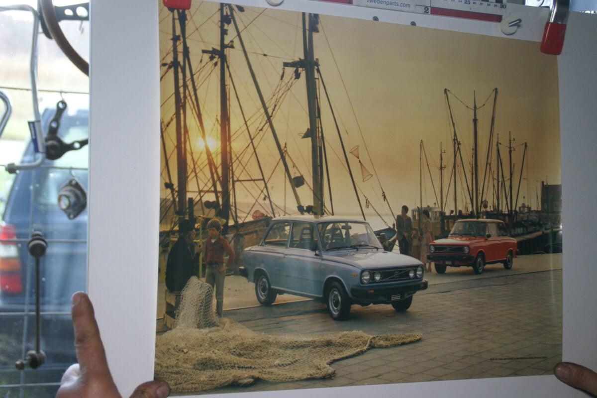 DSC02221 Volvo 66 blauw en rood poster 6395-80