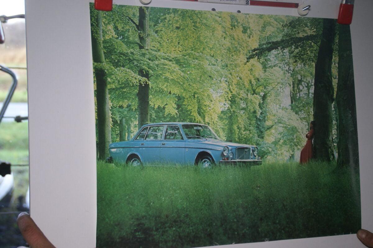 DSC02226 Volvo 164 blauw poster 1974