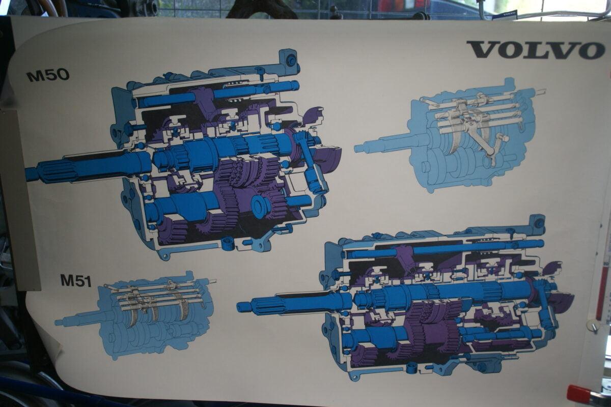 DSC02318 1974 Volvo versnellingsbak M50 M51 poster TP 91076
