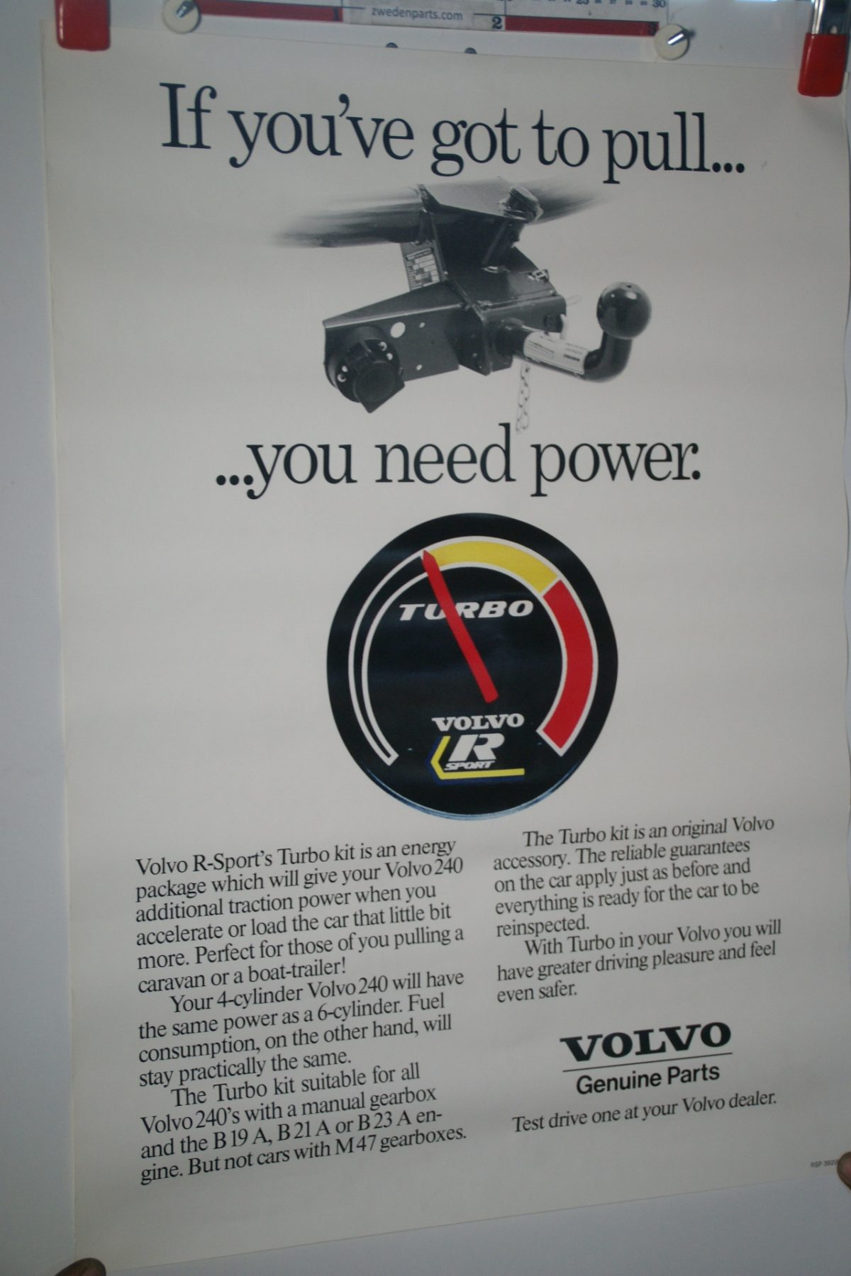 DSC02324 Volvo R sport turbo poster RSP 39200