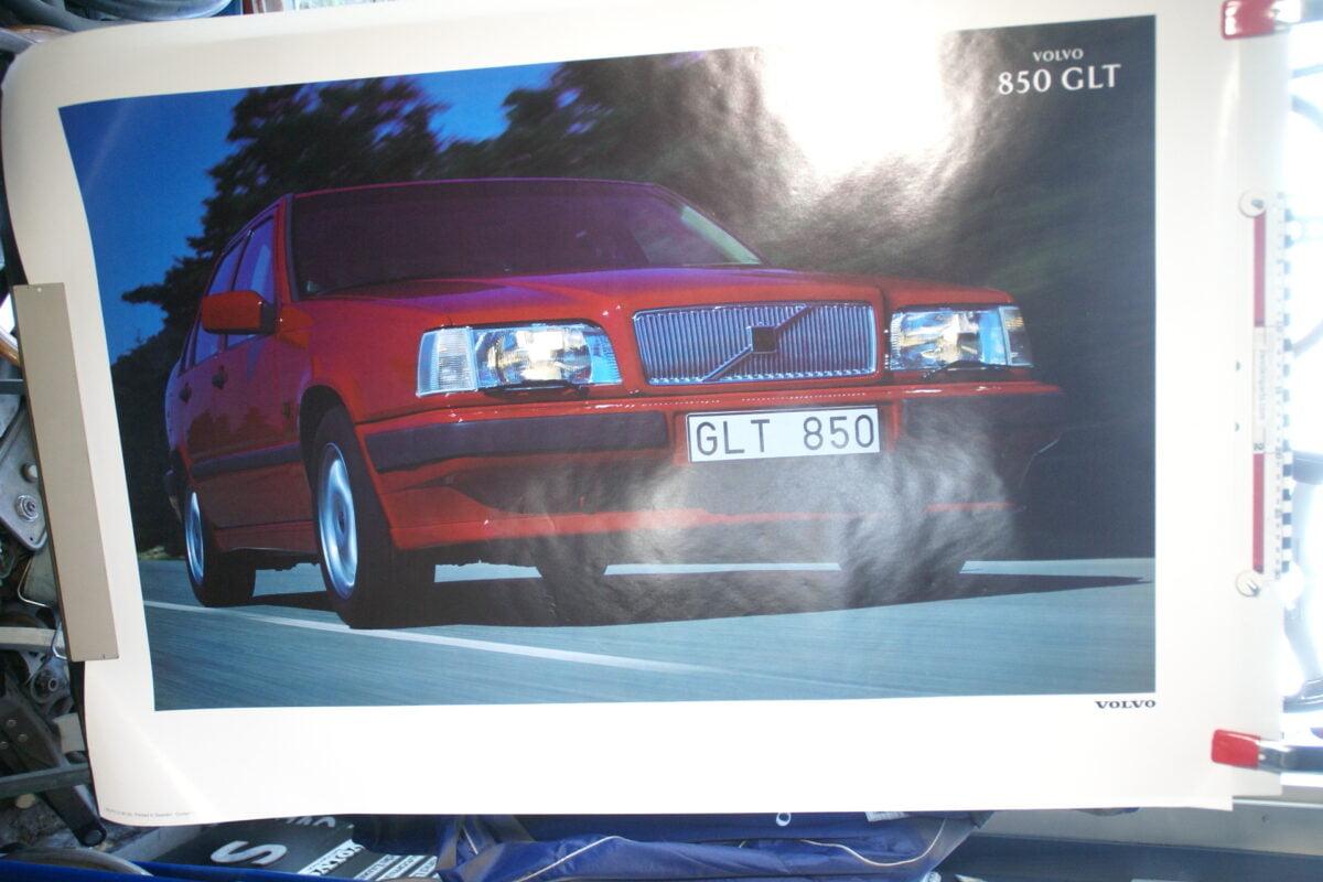 DSC02334 1992 Volvo 850GLT sedan rood poster MSPV 5190
