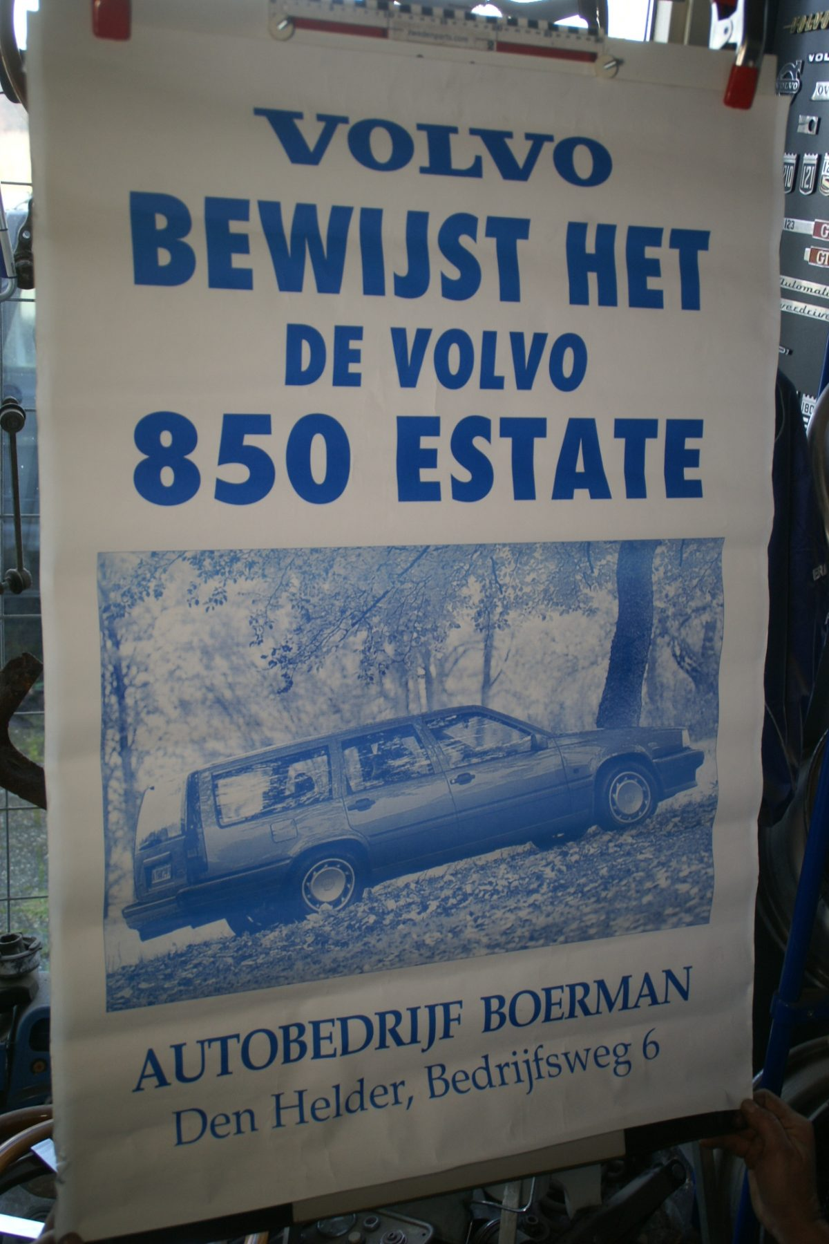 DSC02339 Volvo 855 estate Boerman  poster