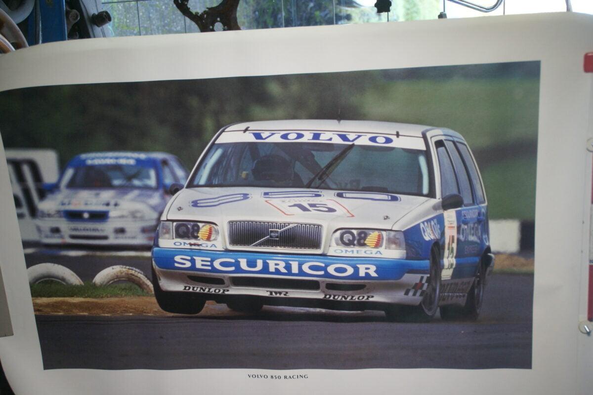 DSC02341 1995 Volvo 855 racer Jan Lammers wit blauw poster MSPV 6896