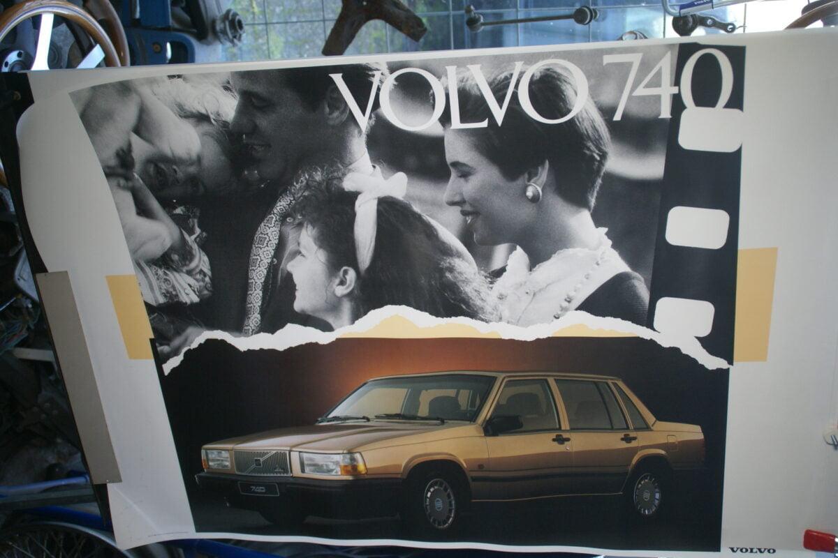 DSC02379 1982 Volvo 740 poster MSPV 4382