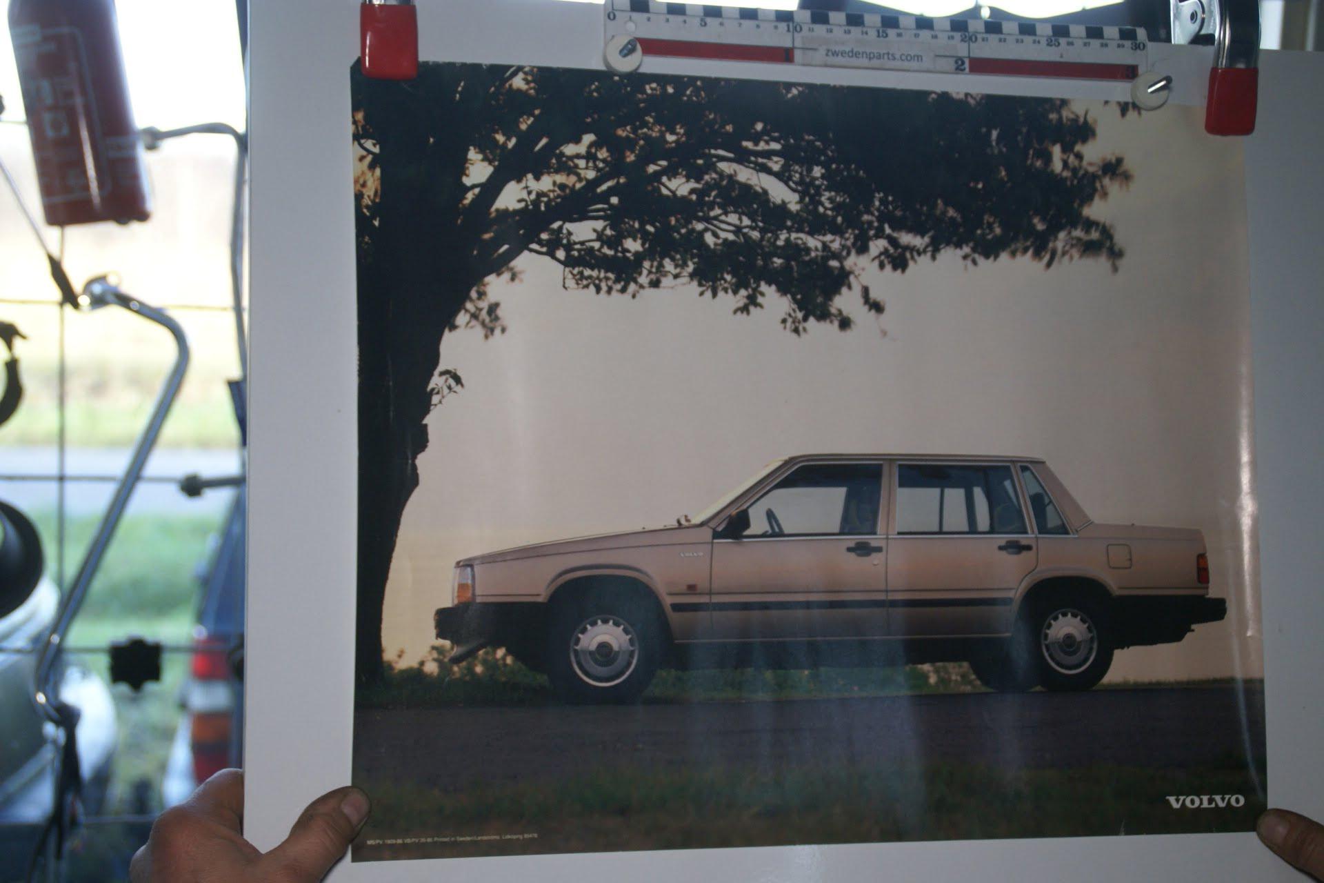 DSC02393 1986 Volvo 740 sedan poster MSPV 1909