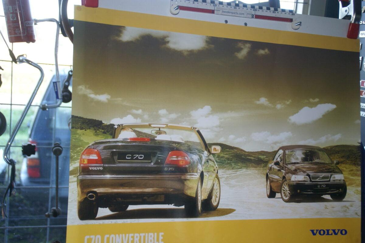 DSC02394 Volvo C70 convertible poster