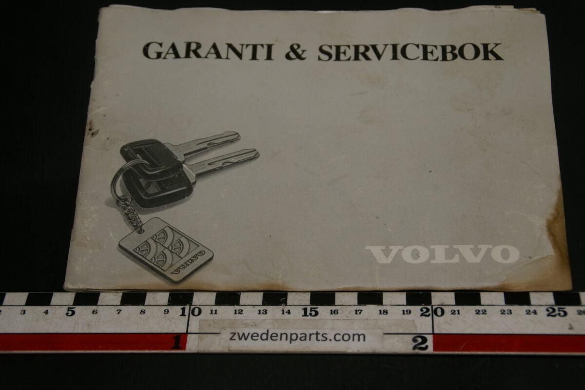 DSC02424 1987 Volvo serviceboekje TP86108.1