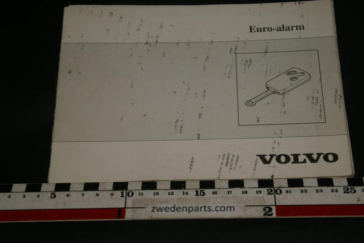 DSC02437 1996 Volvo Euroalarm instructieboekje 9172096