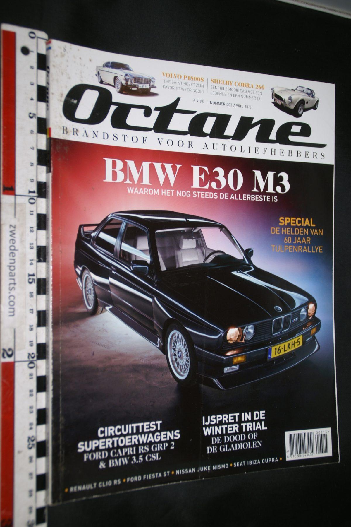 DSC02456 2013 aprl Octane tijdschrift met Volvo P1800
