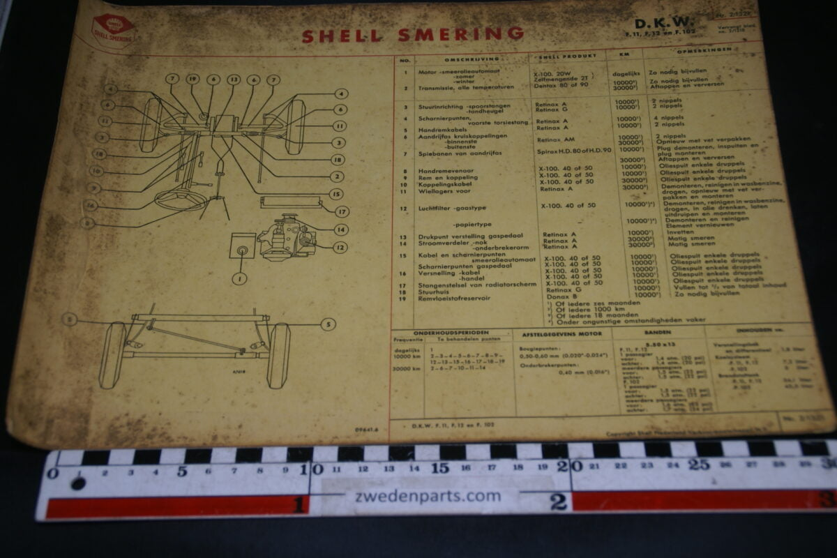 DSC02468 DKW kaart Shell smering 2.1321