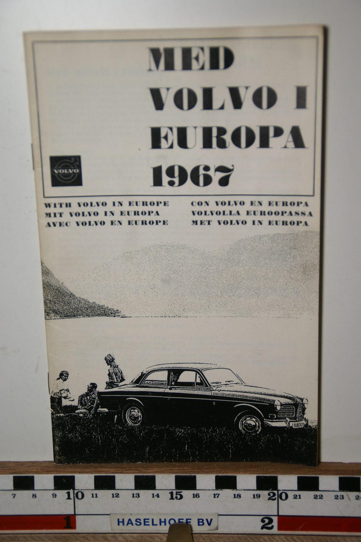 DSC02434 1967 boekje Met Volvo in Europa 1967