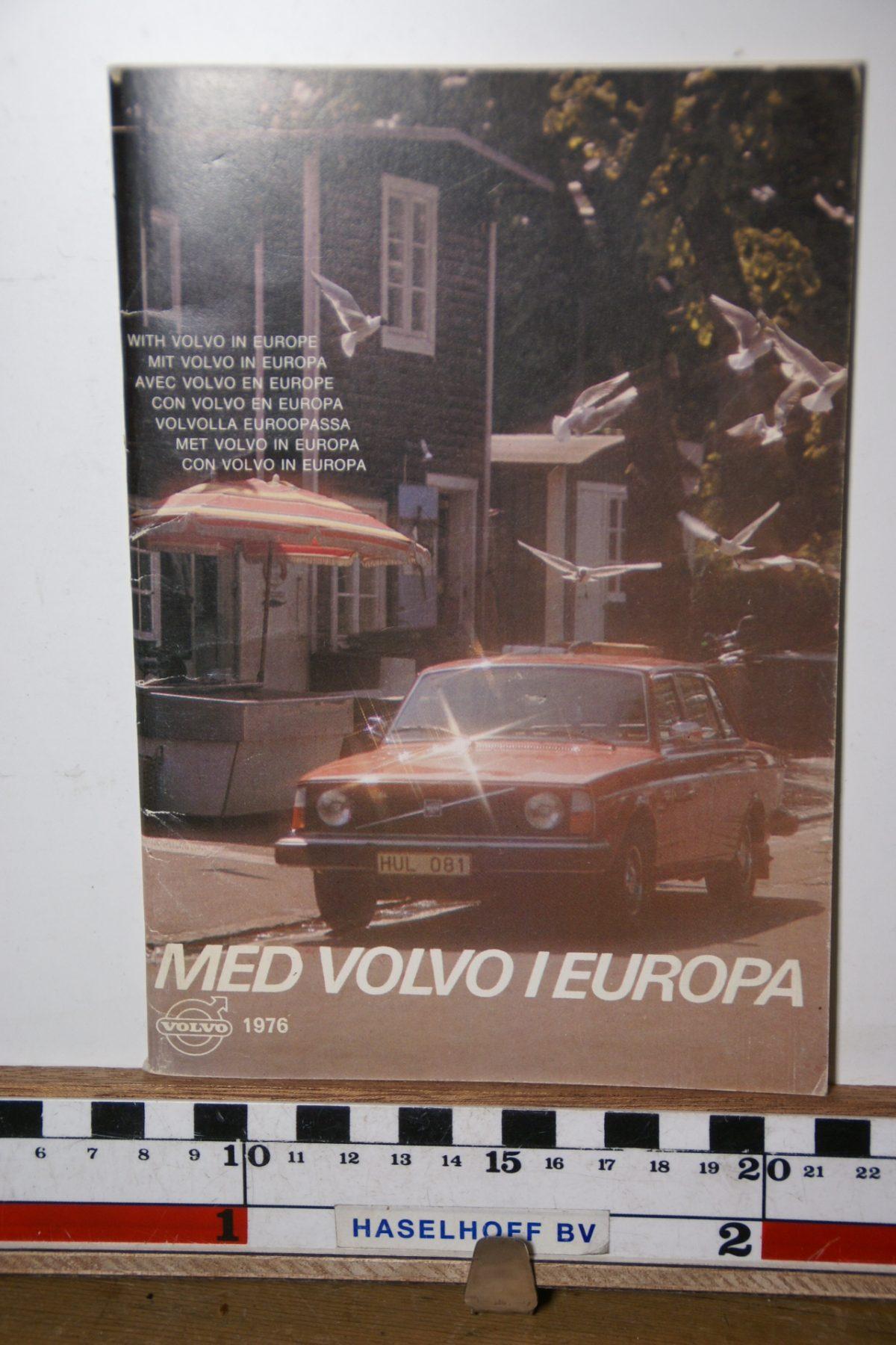 DSC02438 1976 boekje Met Volvo in Europa 1976