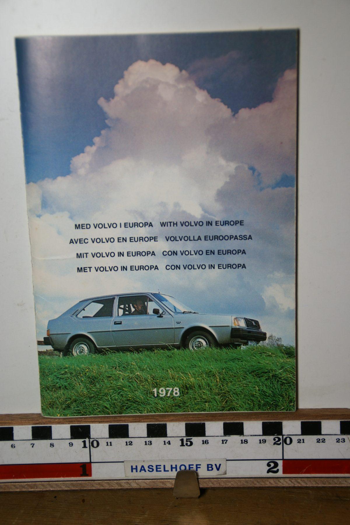 DSC02440 1978 boekje Met Volvo in Europa 1978 PRPV780302