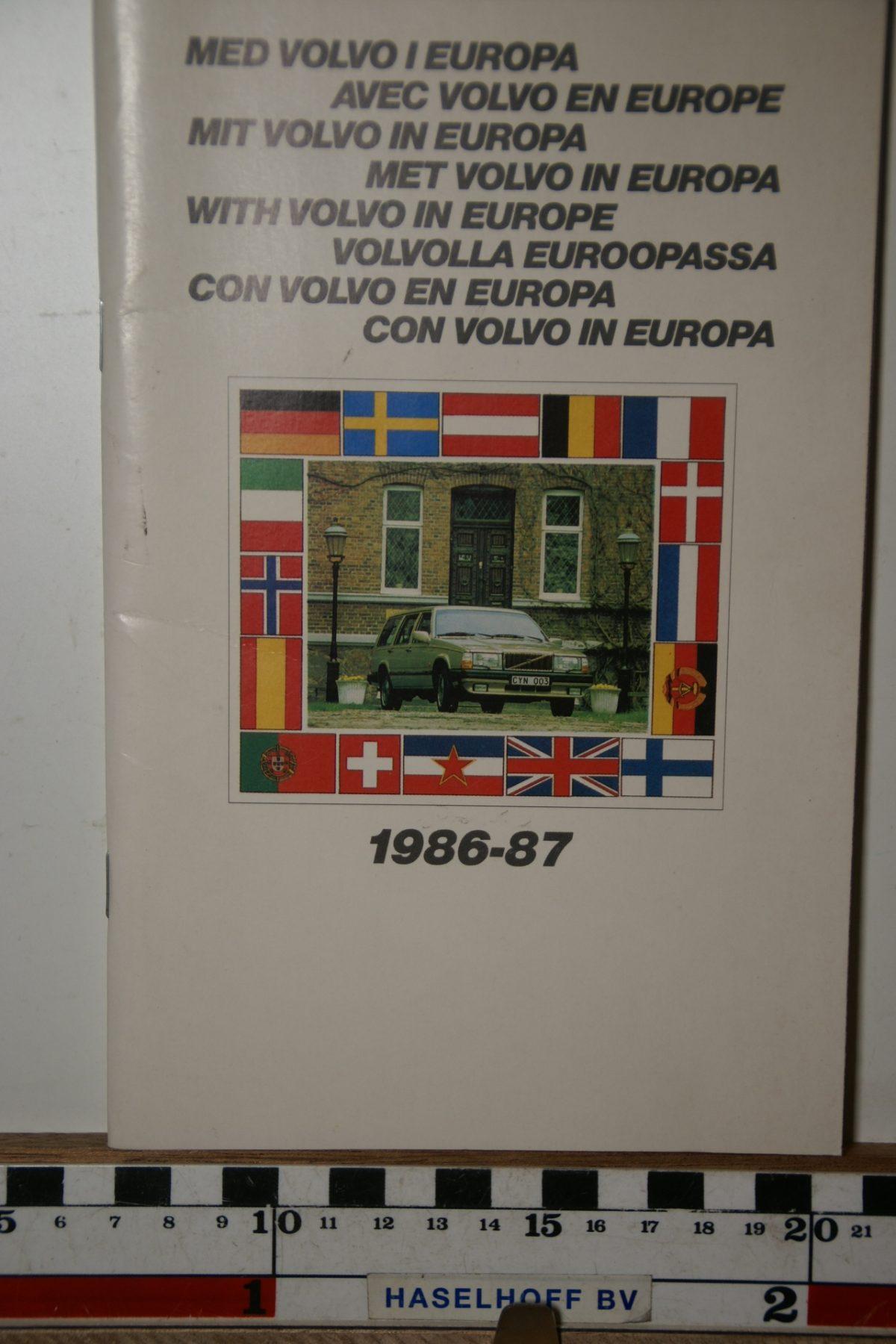 DSC02446 1986 boekje Met Volvo in Europa 1986 1987 PRPV860302
