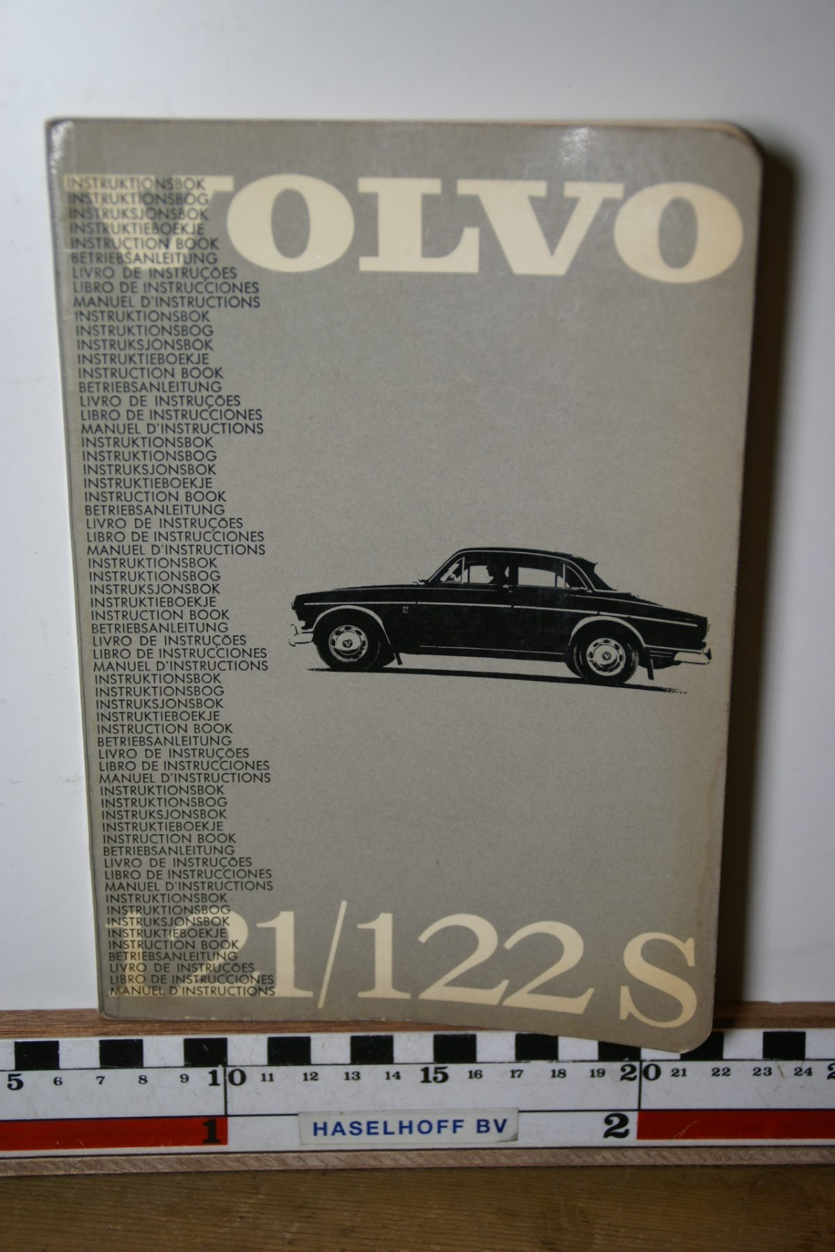DSC02449 1964 instructieboekje Volvo Amazon TP19.5