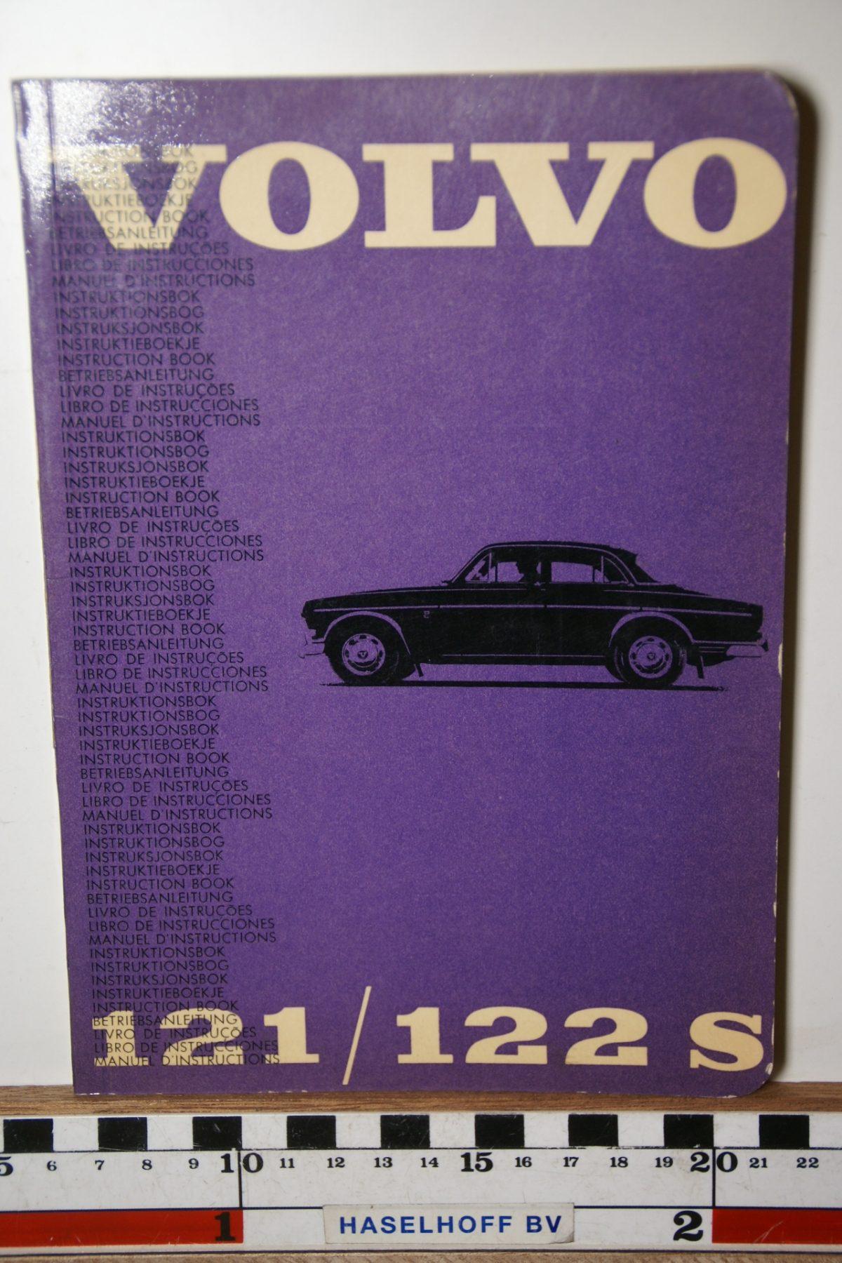 DSC02453 1965 instructieboekje Volvo Amazon TP19.6