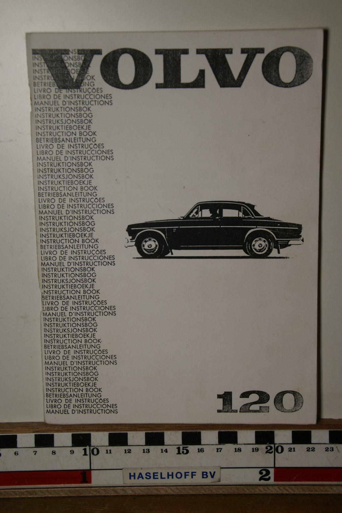 DSC02457 1967 instructieboekje Volvo Amazon TP540.1