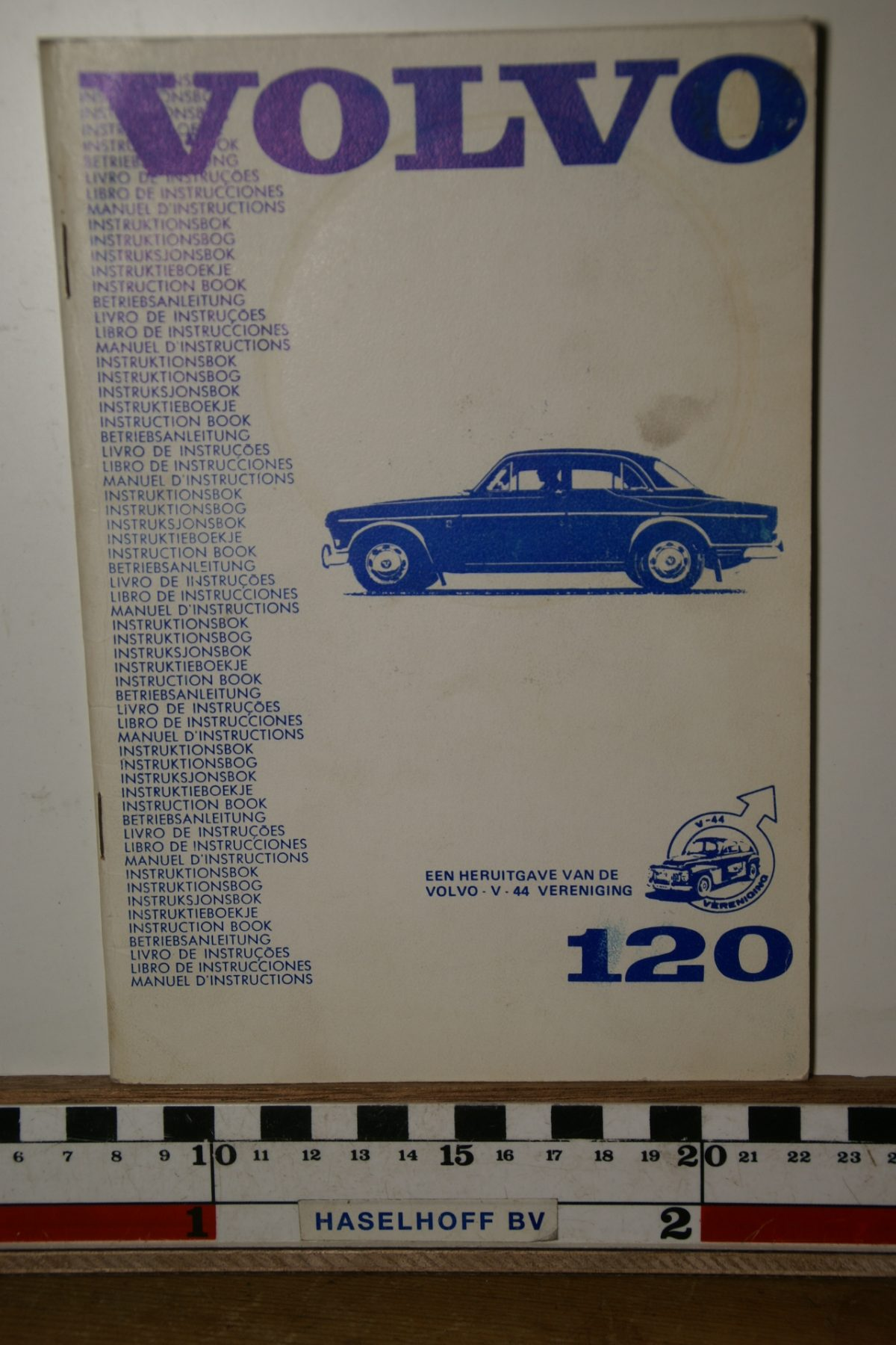 DSC02459 1967 instructieboekje Volvo Amazon herdruk V44 TP540.1