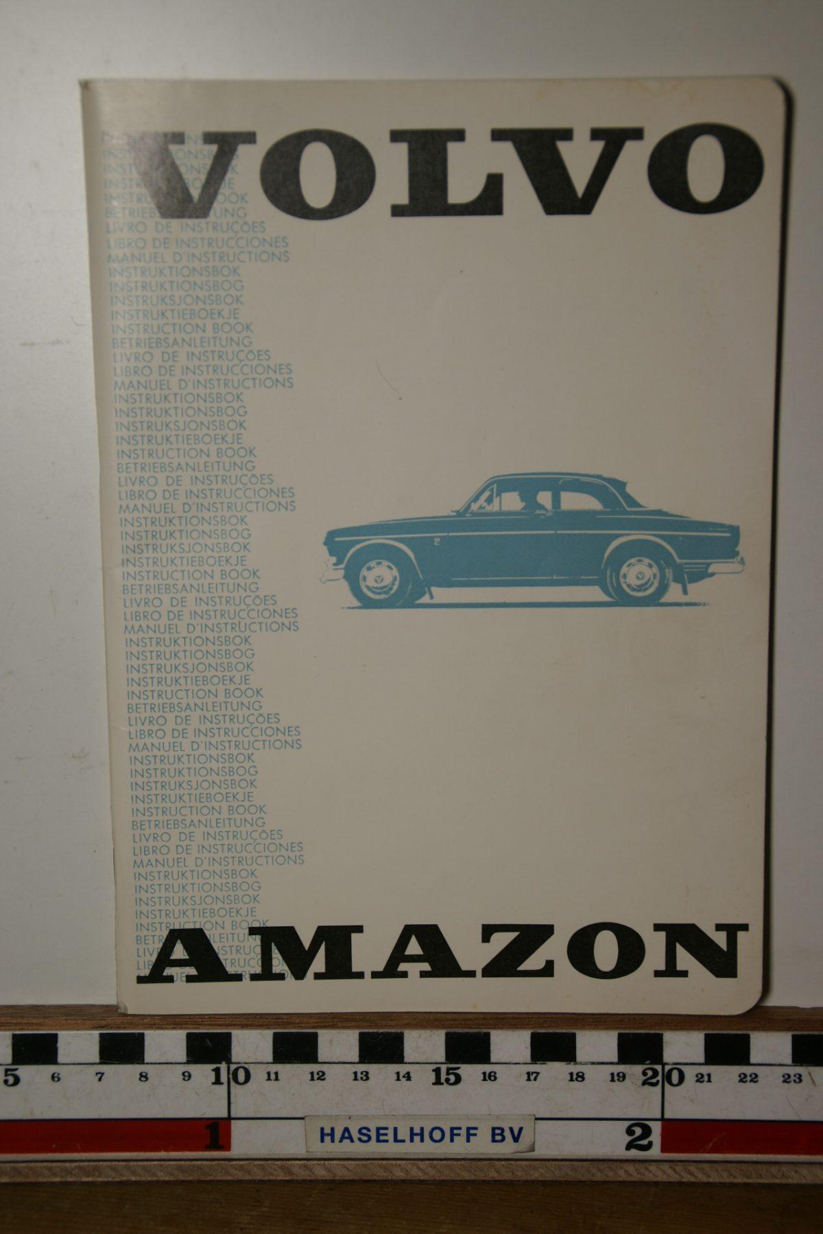 DSC02461 1968 instructieboekje Volvo Amazon TP597.1