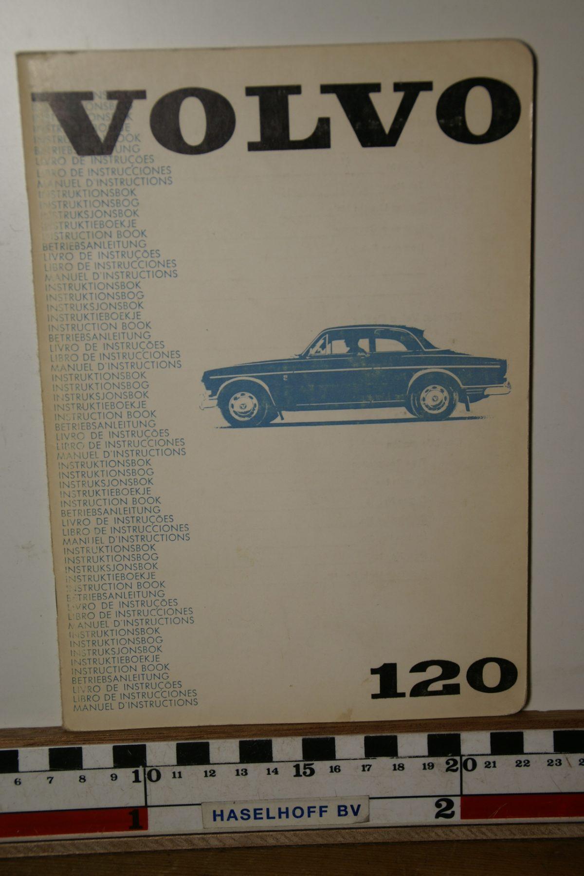 DSC02463 1969 instructieboekje Volvo Amazon TP680.1