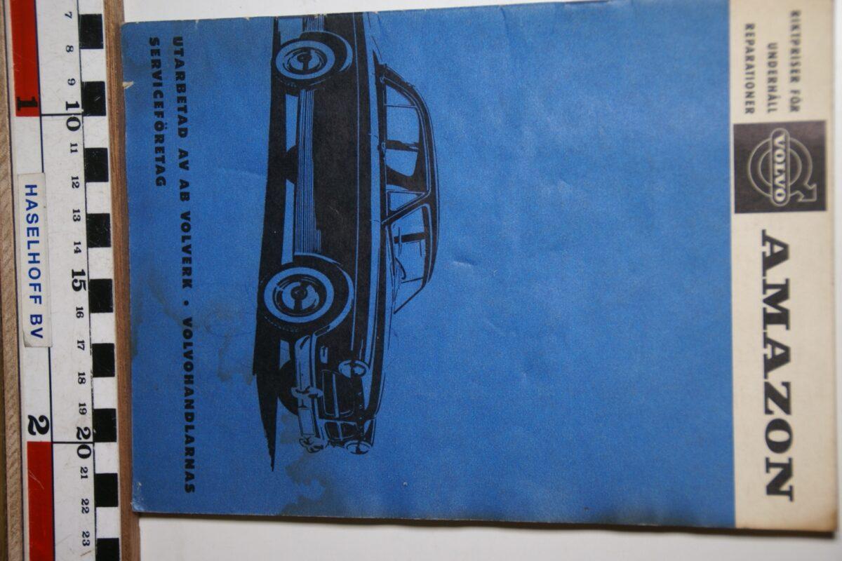 DSC02465 1963 boekje Volvo Amazon reparaties