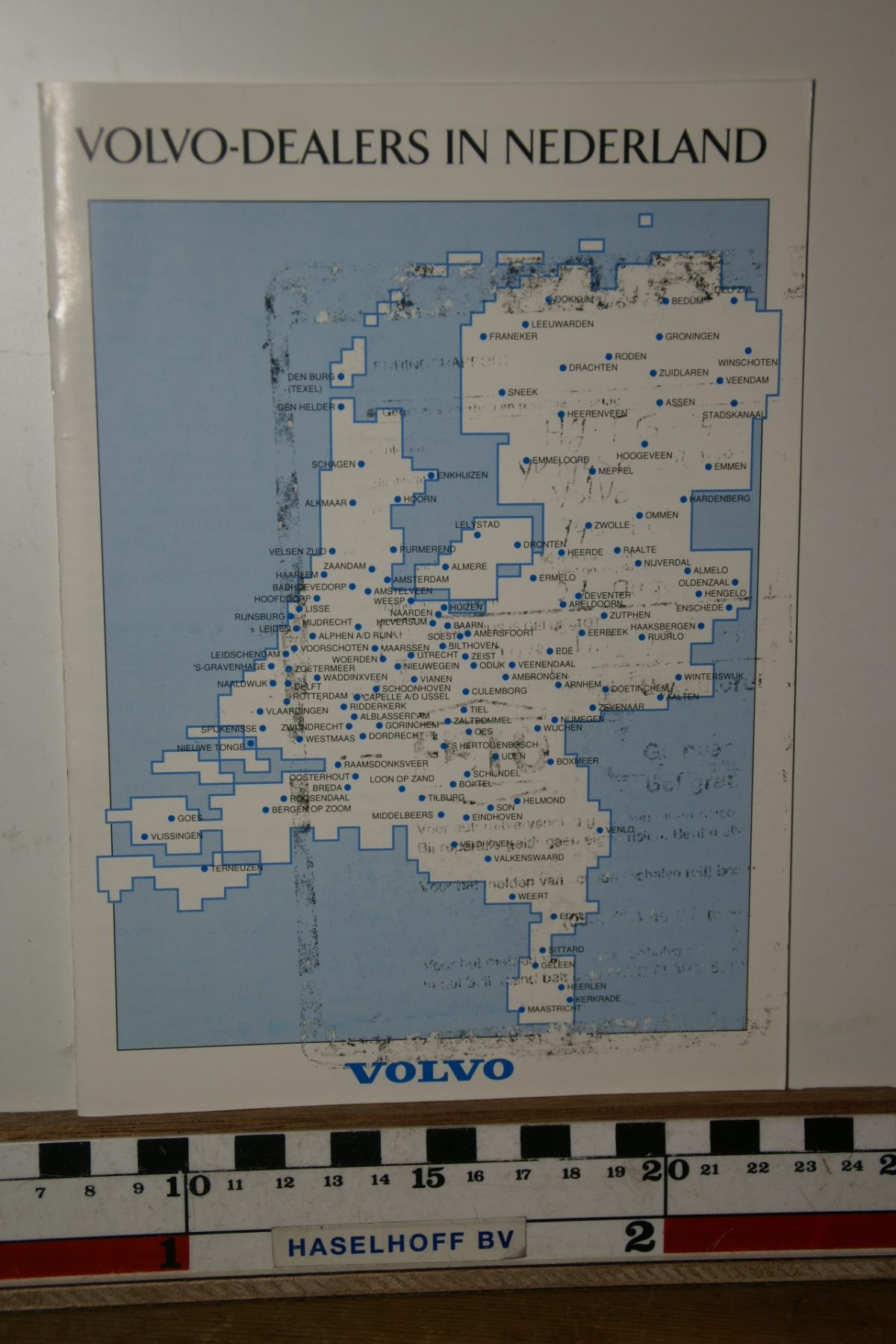 DSC02469 1993 boekje Met Volvo in Nederland 1993