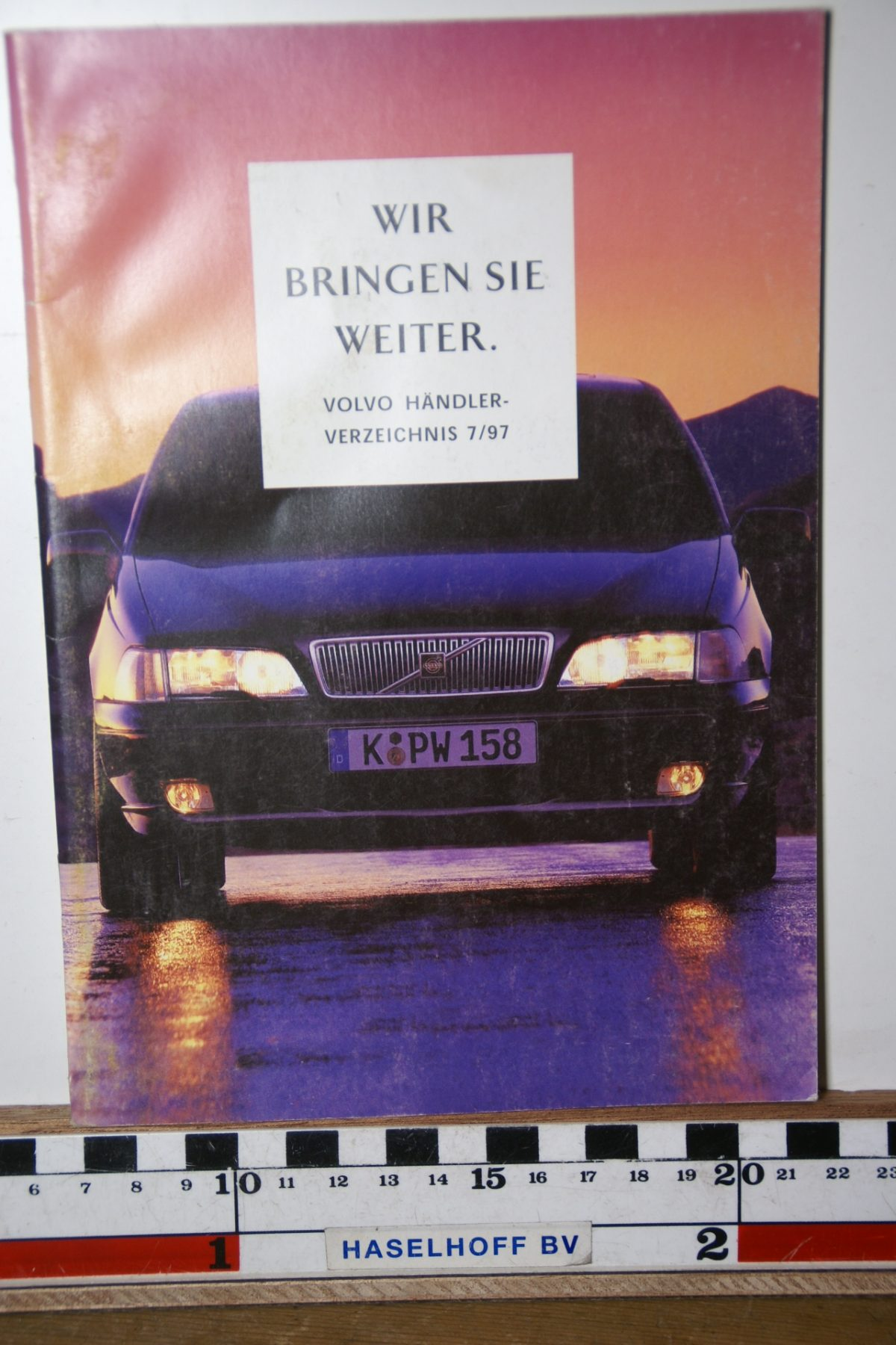 DSC02475 1997 boekje Met Volvo in Duitsland 1997