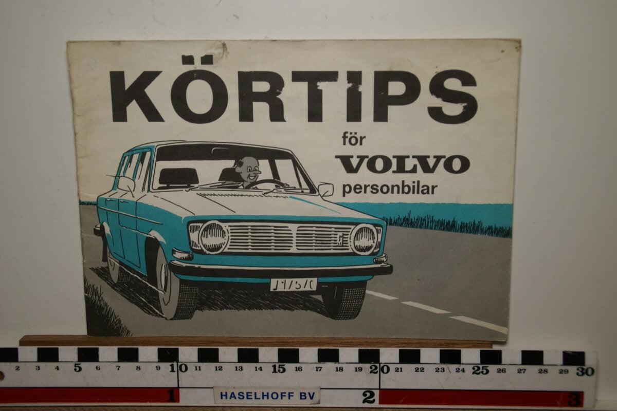 DSC02483 1971 boekje rijtips voor Volvo personenauto's