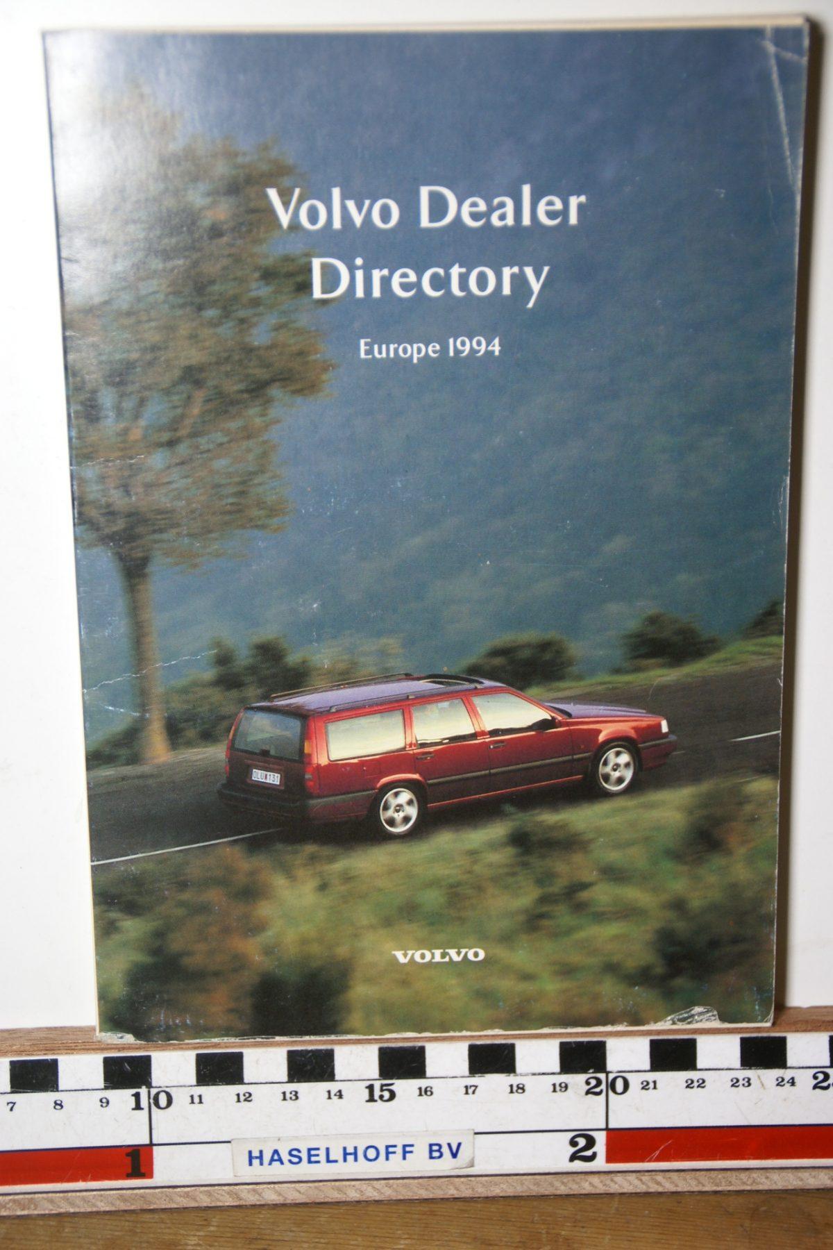 DSC02489 1994 boekje Volvo dealers in Europa MSPV527-6500