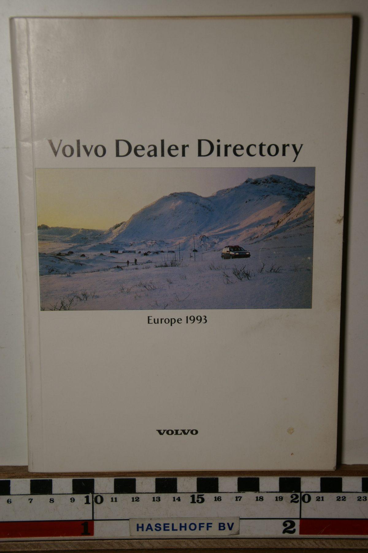 DSC02491 1993 boekje Volvo dealers in Europa MSPV 527-5545
