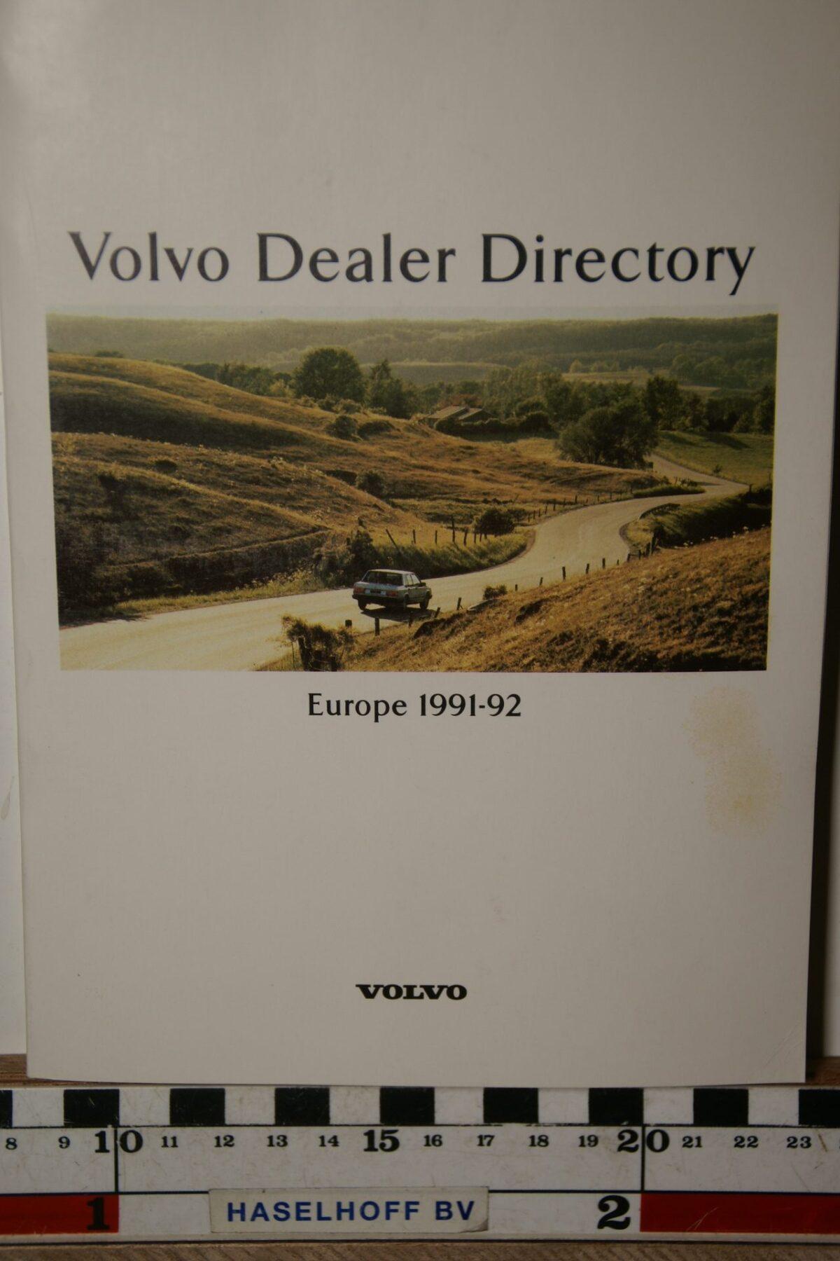 DSC02493 1992 boekje Volvo dealers in Europa MSPV 5530