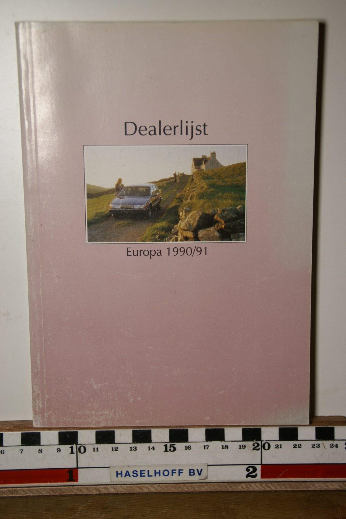 DSC02495 1990 1991 boekje Volvo dealers MSPV 4548