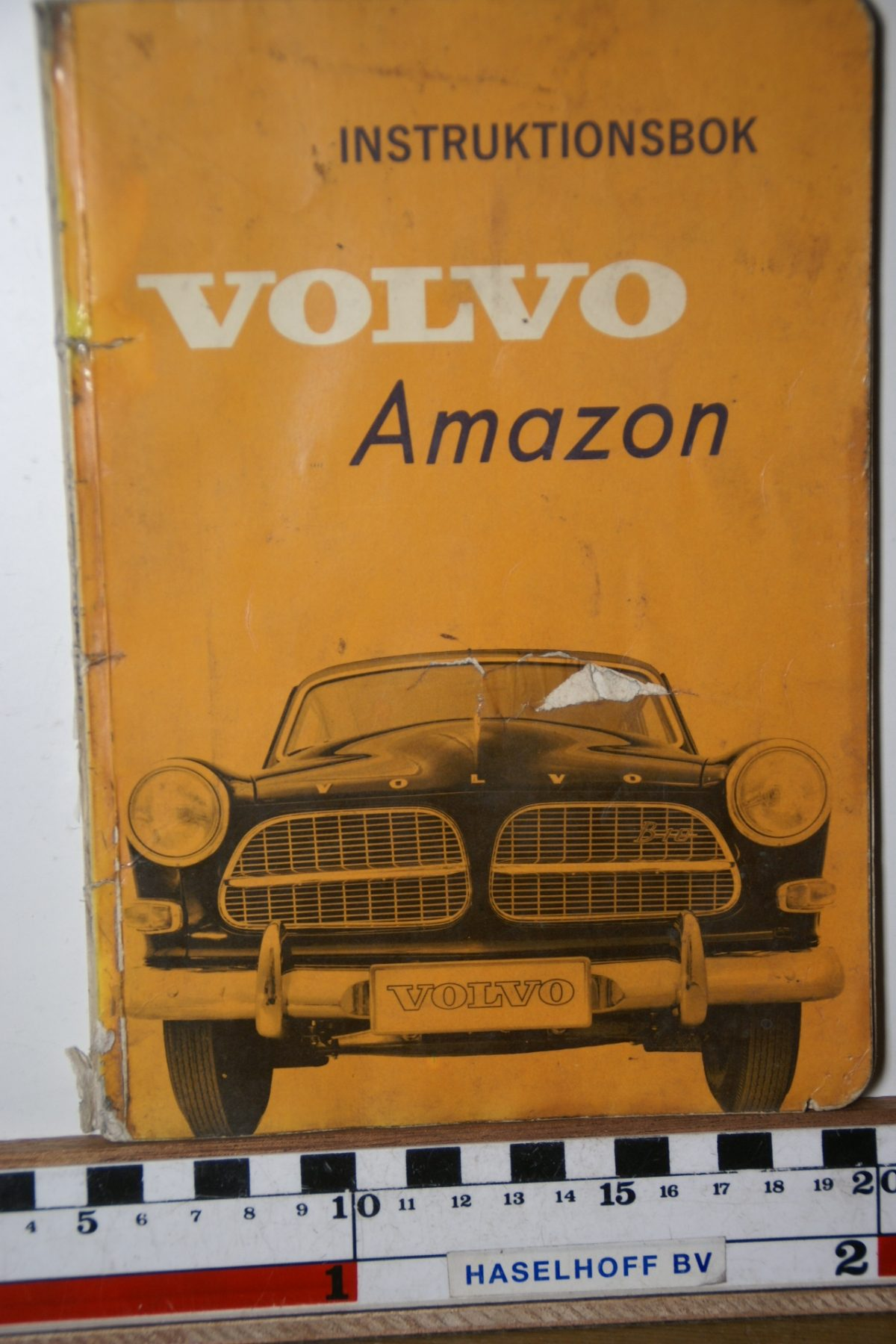 DSC02505 1962 instructieboekje Volvo Amazon TP12.4