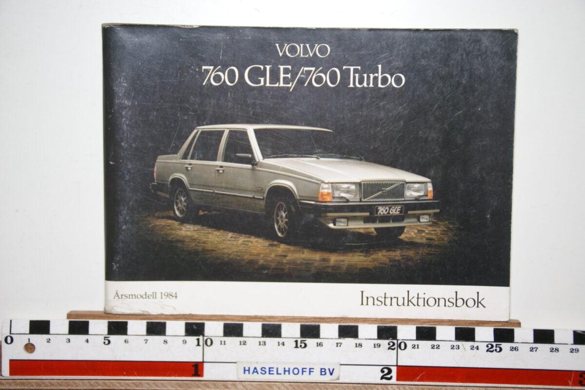 DSC02531 1983 instructieboekje Volvo 760GLE 760 TURBO TP2425 1 van 5000