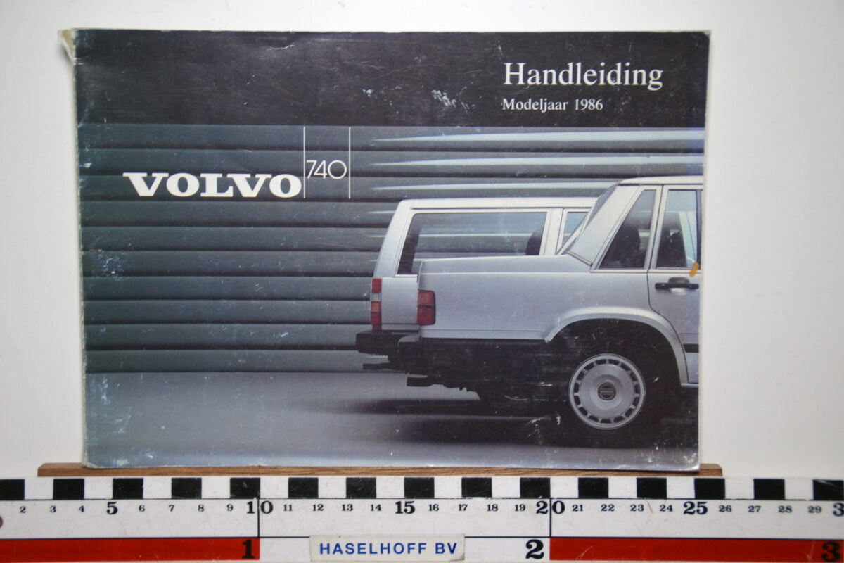 DSC02545 1986 instructieboekje Volvo 740 TP2637.1