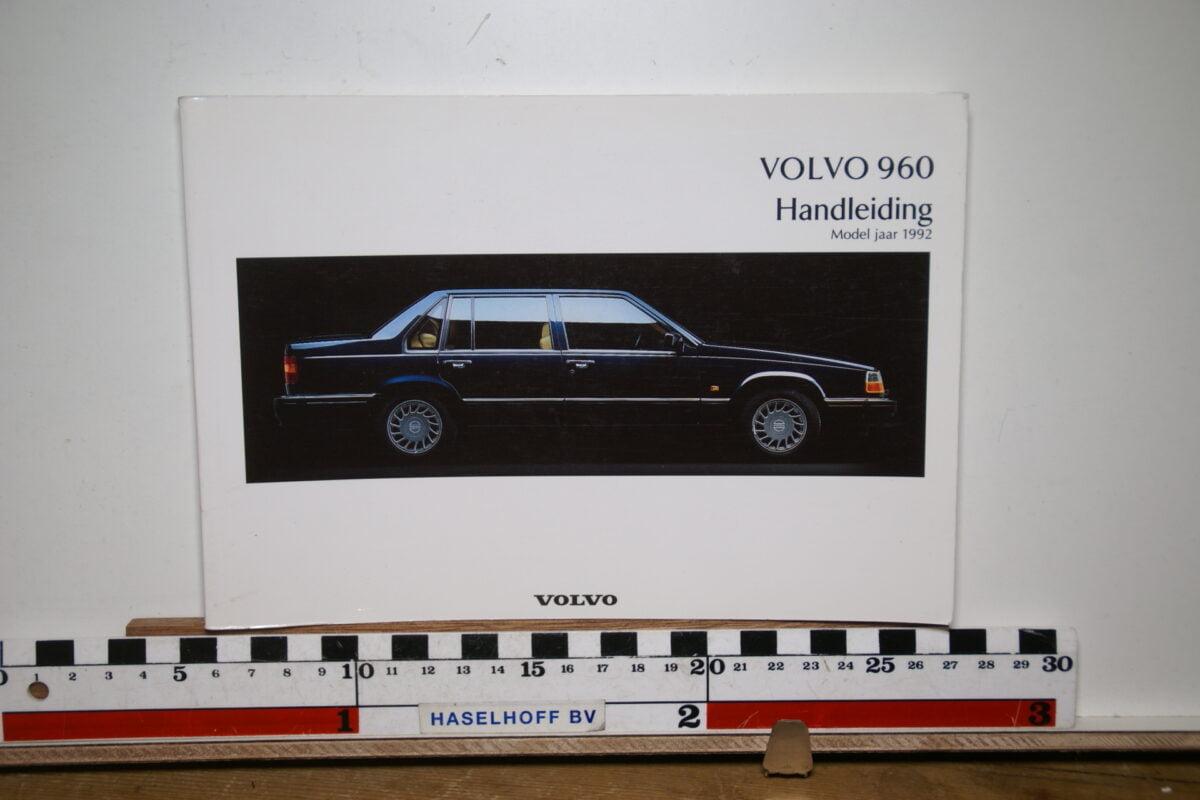 DSC02561 1992 instructieboekje Volvo 960 TP3238 1 van 1500