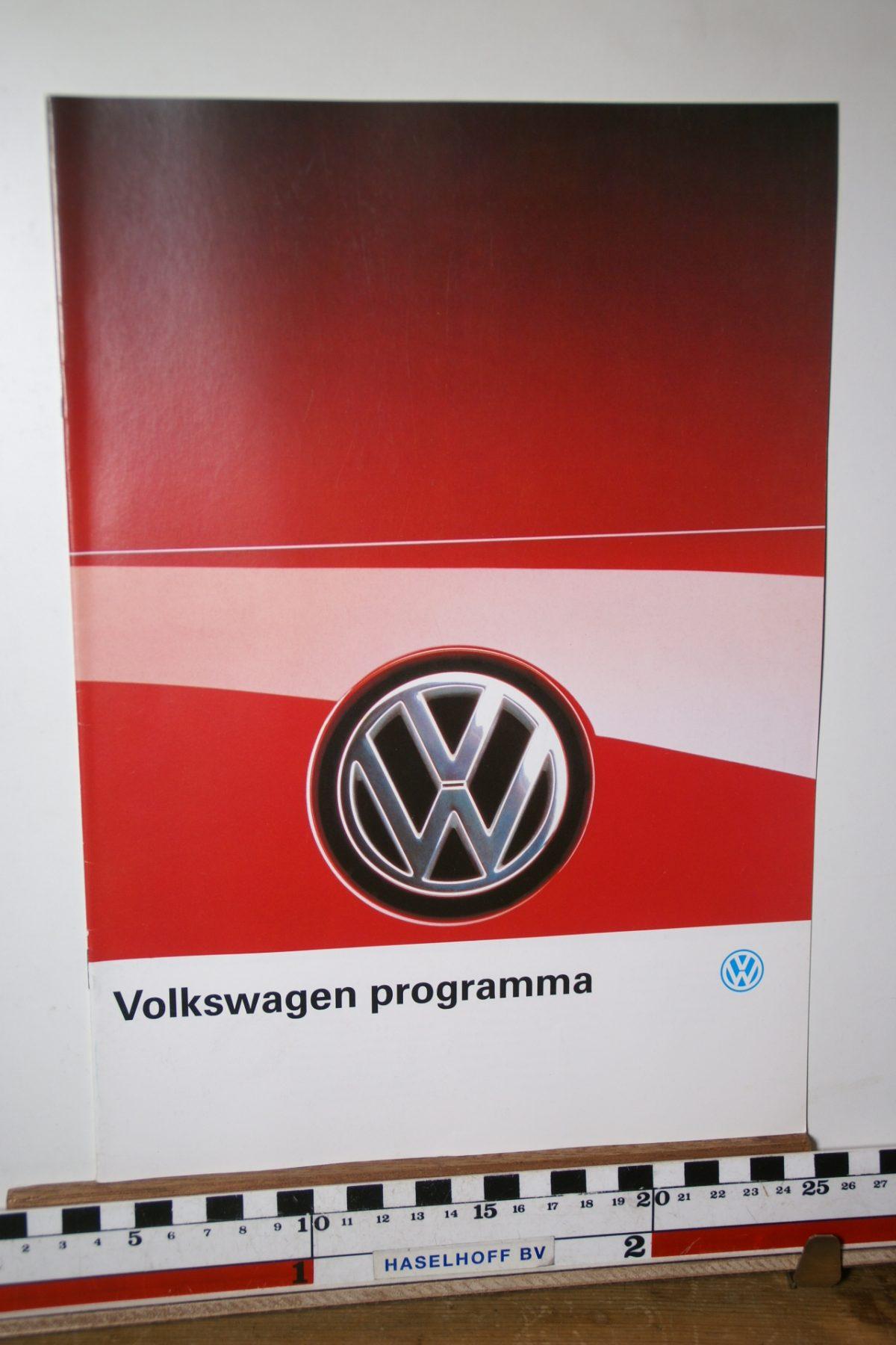 DSC02603 1989 brochure Volkswagen programma