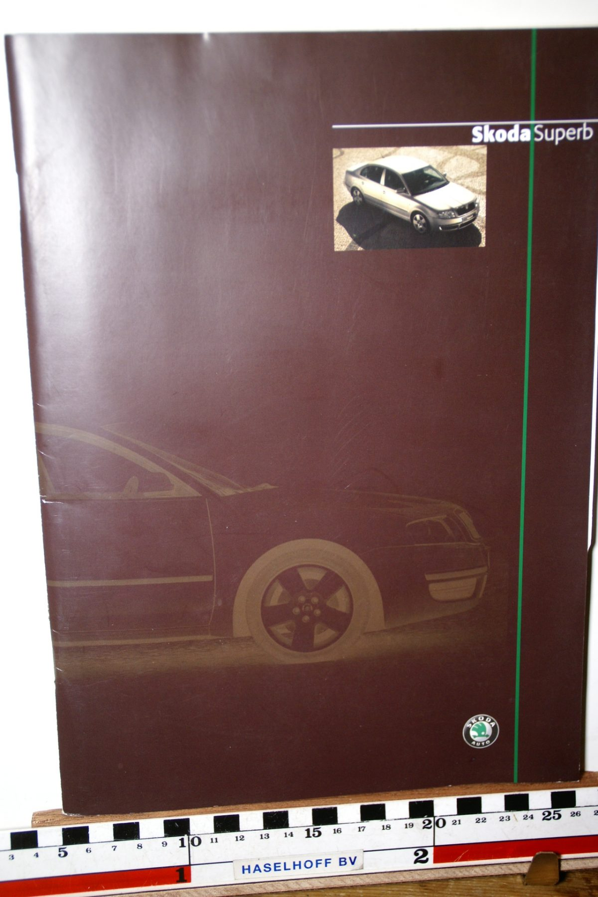 DSC02630 2002 brochure Skoda Superb