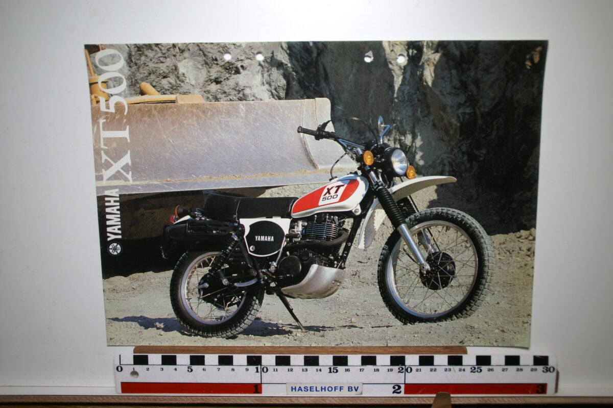 DSC02649 198 brochure Yamaha XT500 3MC-0107160