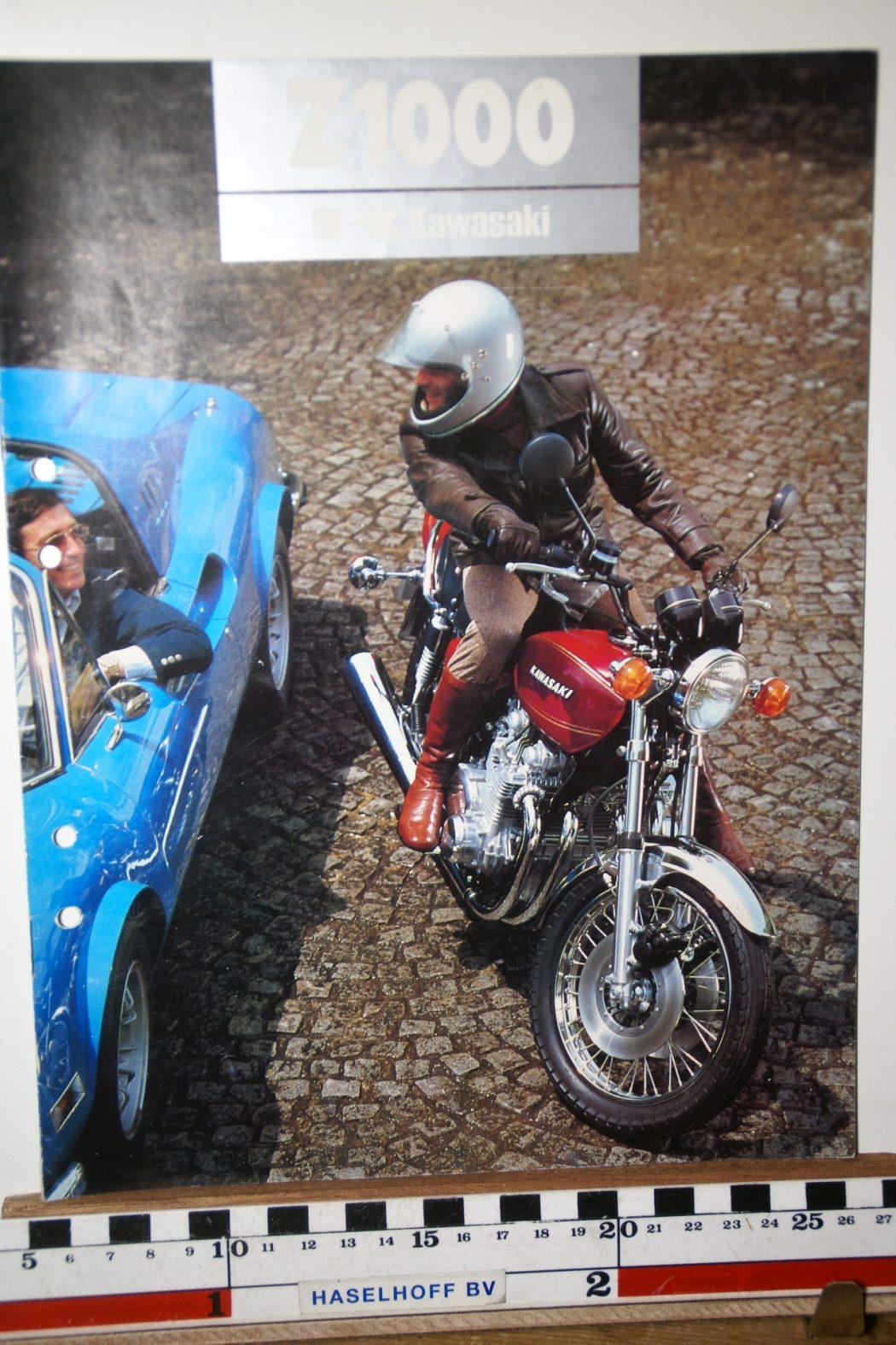 DSC02665 1977 brochure Kawasaki Z1000 99980