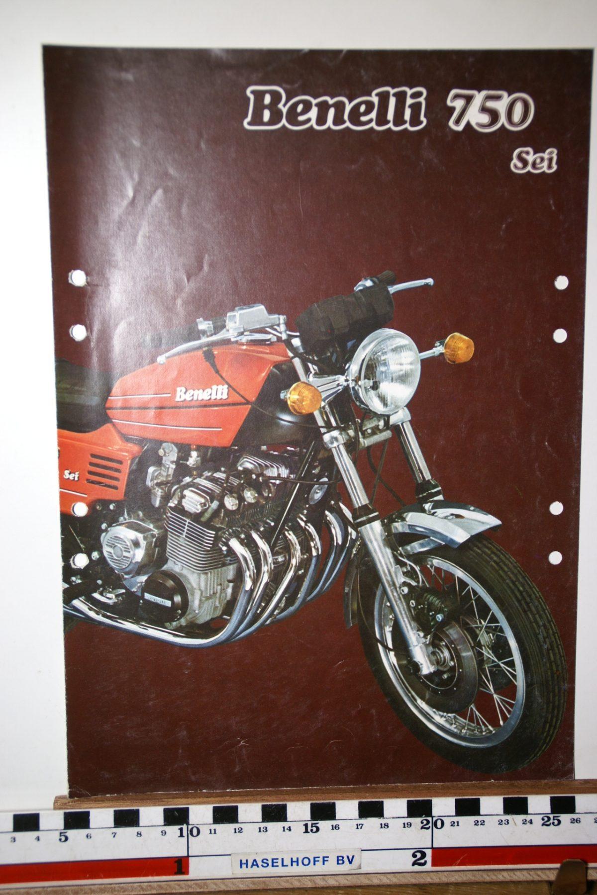 DSC02674 ca 1977 brochure Benelli 750 SEI