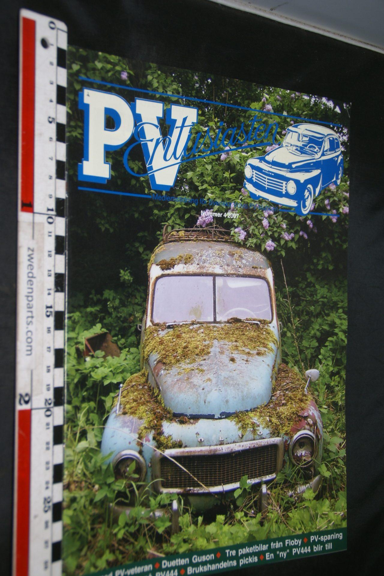 Volvo PV Entusiasten PV Klubben 4 2007