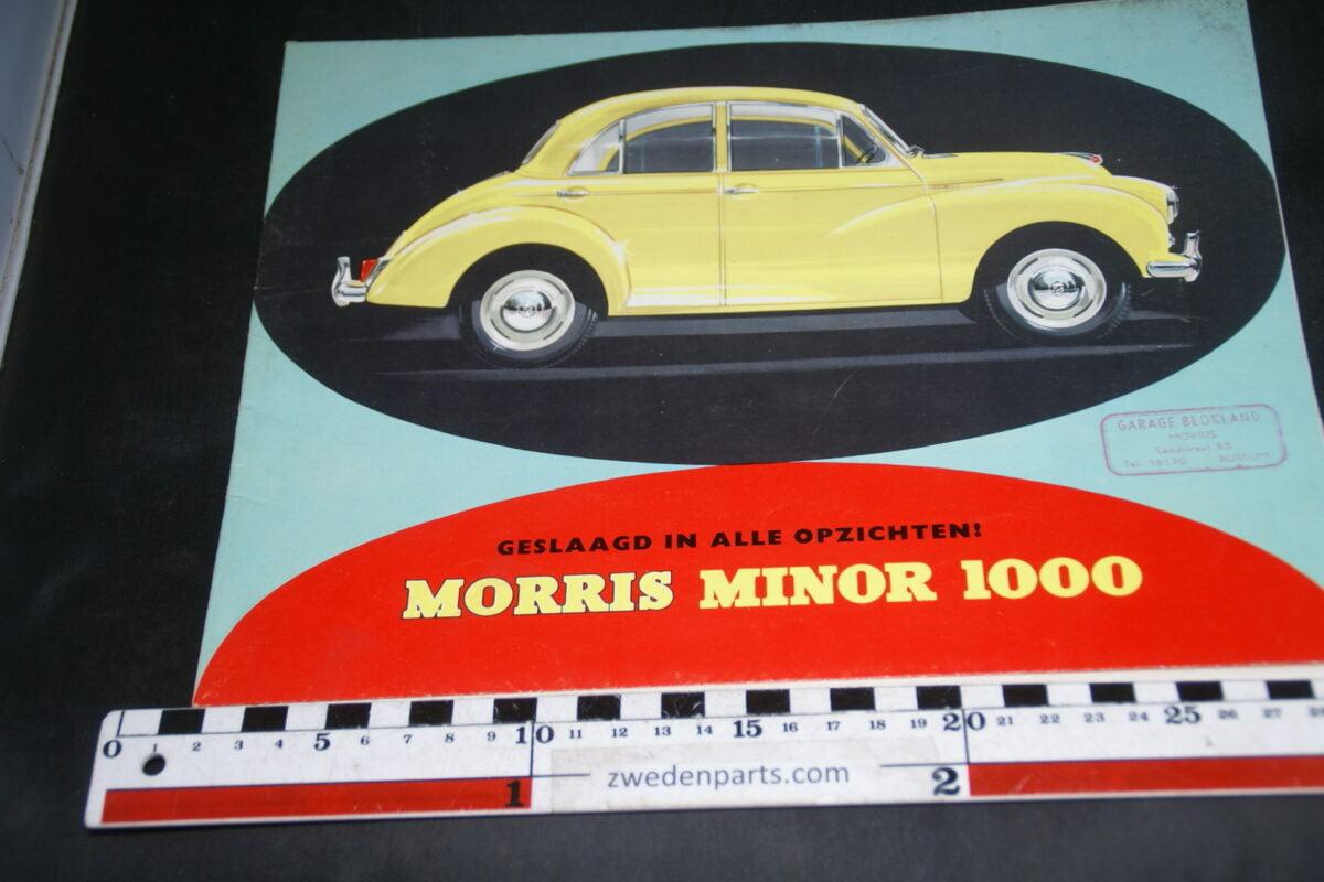 DSC04673 Brochure Morris Minor 1000