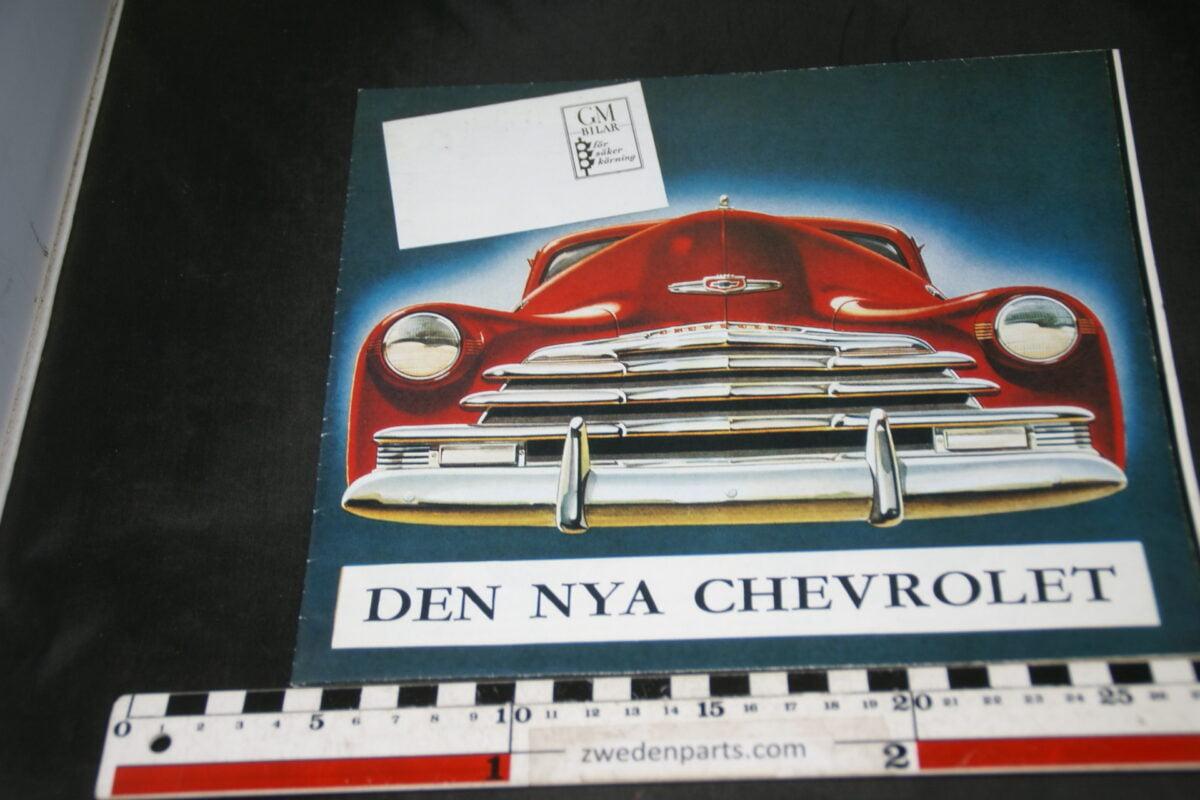DSC04691 ca 1947 brochure Chevrolet Svenskt