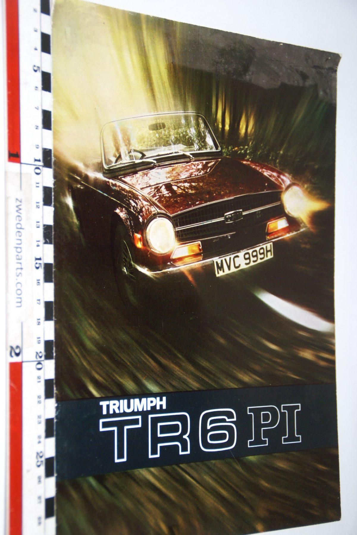 DSC04713 ca 1976 brochure Triumph TR6PI 426-969 English