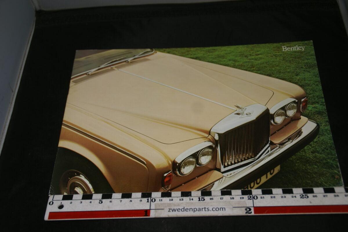 DSC04717 1977 brochure Bentley by Rolls Royce English