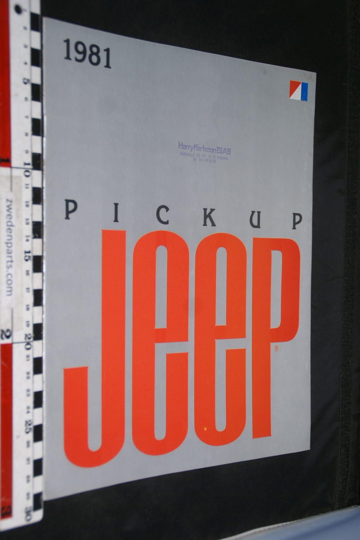 DSC04880 1981 Jeep pickup brochure