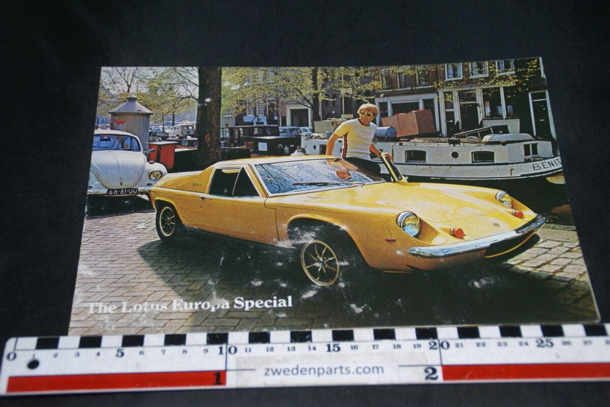 DSC04882 Lotus Europa Special brochure