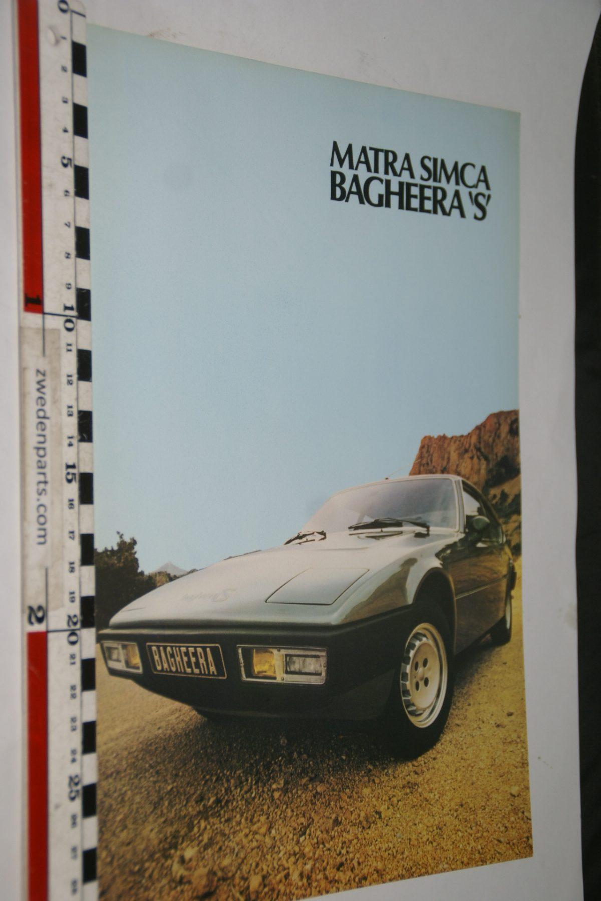 DSC04885  Matra Simca Bagheera S  brochure